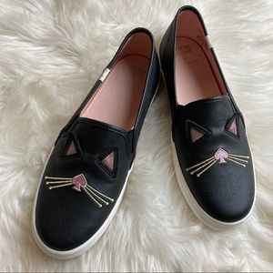 Kate Spade Keds Cat Slip On Size 6